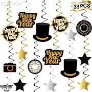 Happy New Year Hanging Swirls Ð Pack Of 33   New Years Eve Party Supplies 2020  