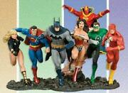 Complete Justice League Of America Build A Scene Limited Statue Set Dc Direct