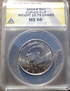 2013-p Anacs Ms66 Clip Kennedy Half Dollar Only Clip From 2002-2020 Known
