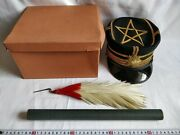 Wwii Japanese Military Imperial Soldierand039s Dress Uniform Hat Cap Boxed Set-c1229-