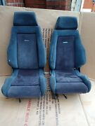 Ford Escort Mk4 Rs Turbo Front Recaro Seats And Subframes X2. And 8 X Seat Bolts