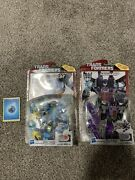 Transformers Skywarp And Nightbeat Generations Thrilling 30 Lot G1 Colors Mosc