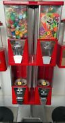 Fully Restored Vintageoak Vista Gumball Machine With Stand