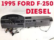 1995 Ford F-250 Diesel Dash Assembly Panel Gray F-350 F250 F350 1995-97 Pickup