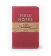 Field Notes Arts And Sciences Summer 2014 Quarterly Ed. Two 64-page Memo Books