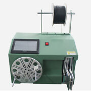 Cable Wire Coil Winding Binding Machine Touch Screen Electric Digital Automatic