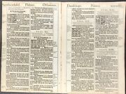 1611 King James Bible Leaf - Ps 40 - John Sings Rock - And039sheand039 Bible - 2 Leaves