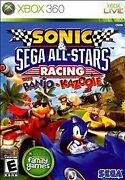 Sonic And Sega All-stars Racing With Banjo-kazooie Xbox 360 2010 Game Only