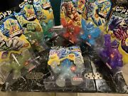 Heroes Of Goo Jit Zu Dino X-ray Complete Set 7/7 Ultra Rare Smashdown İncluded