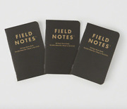 Brand New Sealed Field Notes Abercrombie And Fitch Print Paper Notebooks Memo Book