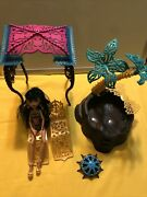 Monster High 13 Wishes Desert Fright Oasis Playset And Cleo De Nile Doll