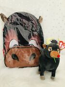 Blue Skies Ferdinand The Bull Backpack + Ty Plush Toy