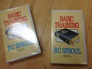 Basic Training On The Holy Bible By Rc Sproul, 2 Vhs Series