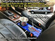 Blue Cup Holder And Charger R107 450sl 380sl 560sl 350sl Mercedes-benz 1971-1989