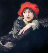 20 Off San Francisco Oil Mabel Williamson Dwight 'the Monocle', 27.5 X 22