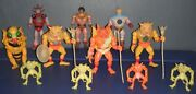 Black Star Galoob 1983-84 Action Figure Vintage Lot Of 11 With Accessories
