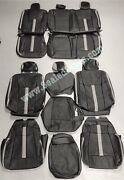 Ford F-150 Xlt Supercrew Katzkin Leather Seat Covers W/degreez Heated/cooled Sys