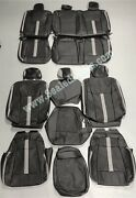Ford F-150 Xlt Supercrew Custom Leather Seat Covers W/degreez Heated/cooled Sys