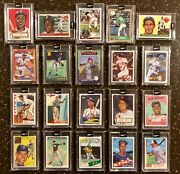 🔥topps Project 2020 Naturel Set Jackie Robinson Roberto Clemente Jeter+🔥