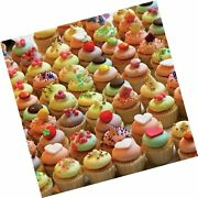 Tdc Games World's Most Difficult Jigsaw Puzzle, Double Sided Cupcakes - 500 P...