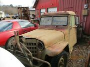 1952 Willys Jeep Parts Truckwith Bed. Not. In Running Condition.