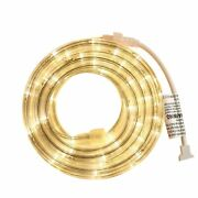 Persik Rope Light - For Indoor And Outdoor Use, 18 Feet, 108 Led Warm-white L...