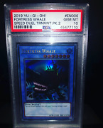 Yugioh Speed Duel Tournament Pack 2 Ultra Rare Fortress Whale Psa 10