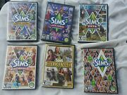 The Sims 3 -6 Pc Game Lot - Expansion Packs/games For Pc Andmac