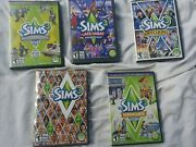 The Sims 3 -5 Pc Game Lot - Expansion Packs/games For Pc Andmac