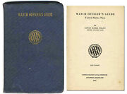 Wwii Us Navy Watch Officerand039s Guide From 1941