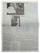 ''the New York Times'' From 13 April 1945 Day After Death