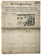 31 August 1945 ''new York Times'' - Macarthur Opens Hq