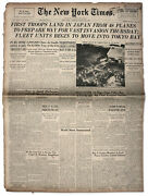 28 August 1945 ''new York Times'' - Troops Land In Japan
