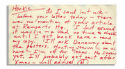Hunter S. Thompson Autograph Letter Signed Re Honkies