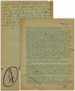 Hunter S. Thompson Letter Signed From 1960 In Bug Sur