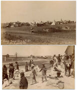 2 Sioux Camp After Wounded Knee Massacre Photos