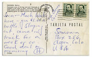 Hunter Thompson Autograph Letter Signed During Vacation