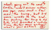 Hunter S Thompson Letter Signed Re Helland039s Angels