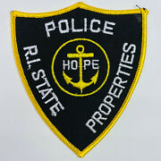 Rhode Island State Police Properties Patch A2