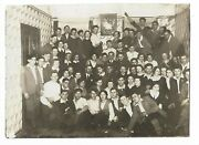 Judaica Poland Small Old Photo Group Of Jewish Youth Hechalutz Org Bialystok 193
