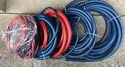 Swagelok Hose Push On 1/4 To 1 Red And Blue Pd-14-blu Pd-14-rd Pd-12-blu, 70 Lbs