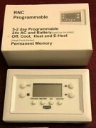 Bryant Legacy T1-pac01 Programmable Digital Thermostat Ac Cool,heat, E-heat New
