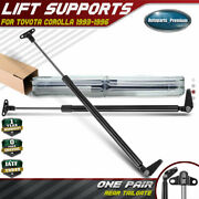 2pcs Rear Hatch Tailgate Lift Supports Shock Struts For Toyota Corolla 1993-1996
