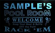 Name Personalized Custom Pool Room Rack And039em Bar Beer Neon Light Sign