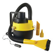 Shop Vac Wet Dry Canister Vacuum Yellow 1 Gallon Portable With Attachments