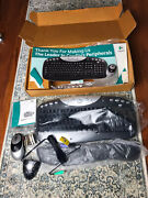Logitech Cordless Access Duo Optical Keyboard And Mouse 967283-0403 - New