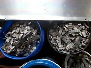 Scrap Lead For Bullets / Fishing / Used Pb Stick On Wheel Weights 60 Pound Lots