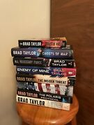 Lot Of 10 Brad Taylor Pike Logan Series Books Hardcovers And Paperback