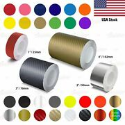 Pinstripe Pinstriping Car Coachline Tape Craft Stickers 25mm 50mm 75mm 100mm