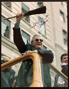 George Steinbrenner Signed Photo 11x14 Baseball Yankees Manager The Boss Psa/dna